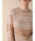 Jersey INDI&COLD jacquard mohair